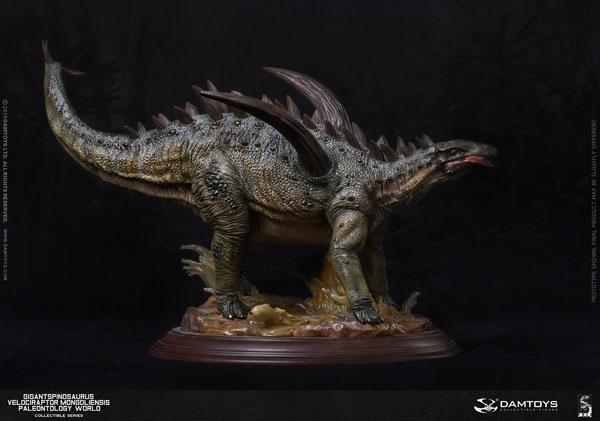 ミュージアムシリーズ ギガントスピノサウルス スタチュー B グリーンカラー[DAMTOYS]【同梱不可】【送料無料】《10月仮予約》