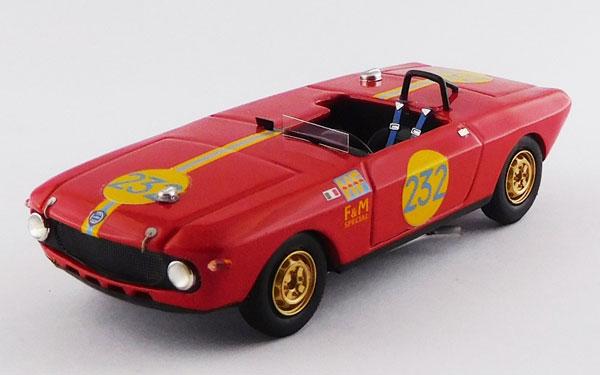 1/43 ランチア フルビア F&M スペシャル HF タルガ フローリオ 1969 #232 Maglioli/Pinto[ベストモデル]《05月予約※暫定》