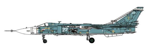 1/72 Su-24M ウクライナ空軍 White 22[Calibre Wings]【送料無料】《07月予約※暫定》