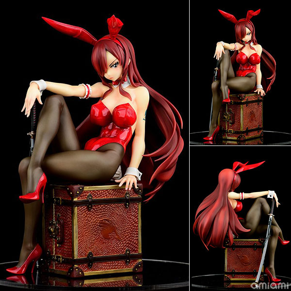 FAIRY TAIL エルザ・スカーレット Bunny girl_Style/type rosso 1/6 完成品フィギュア[オルカトイズ]《08月予約》