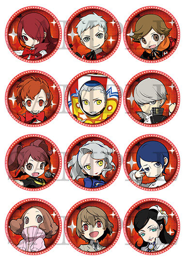 BOX [123 Publishing] with persona Q2 New Cinema labyrinth acrylic coaster  Vol 2 12 << out of stock >>