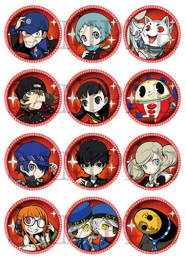 BOX [123 Publishing] with persona Q2 New Cinema labyrinth acrylic coaster  Vol 3 12 << out of stock >>