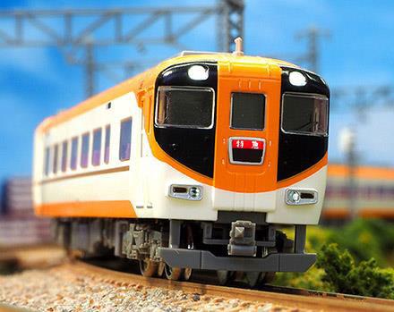 30849 近鉄12410系(12411編成・新塗装)4両編成セット(動力付き)[グリーンマックス]【送料無料】《09月予約》
