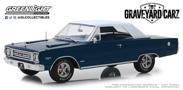 1/18 Artisan Collection - Graveyard Carz (2012-Current TV Series) - 1967 Plymouth Belvedere GTX Convertible[グリーンライト]《09月仮予約》