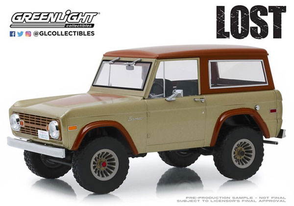 1/18 Artisan Collection - Lost (TV Series, 2004-10) - 1970 Ford Bronco[グリーンライト]《09月仮予約》