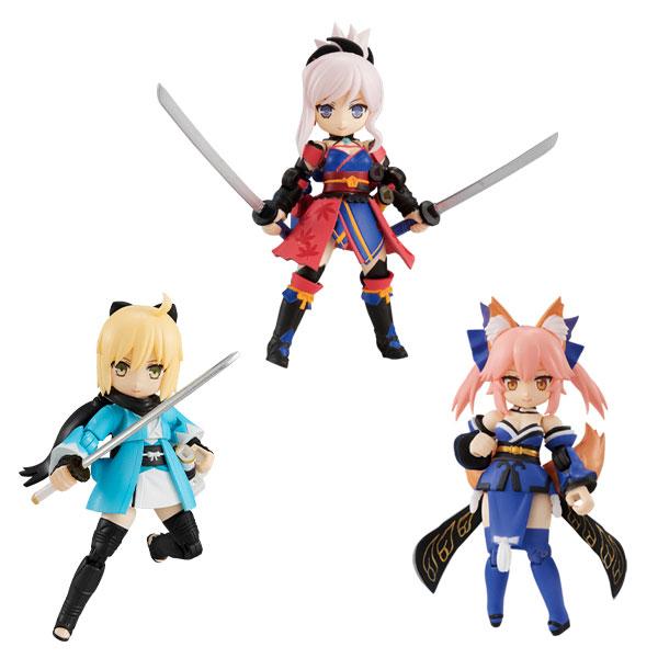 【特典】デスクトップアーミー Fate/Grand Order 第3弾 3個入りBOX[メガハウス]《09月予約》