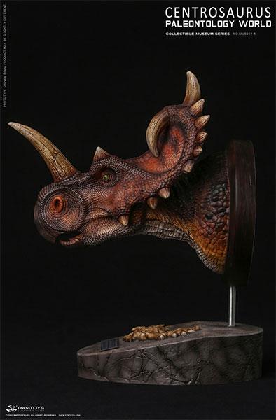ミュージアムシリーズ セントロサウルス バスト B[DAMTOYS]【送料無料】《12月仮予約》