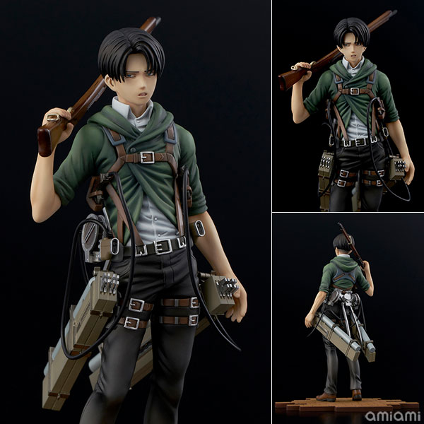 BRAVE-ACT 進撃の巨人 リヴァイ -ver.2A- 1/8 完成品フィギュア[千値練]《12月予約》