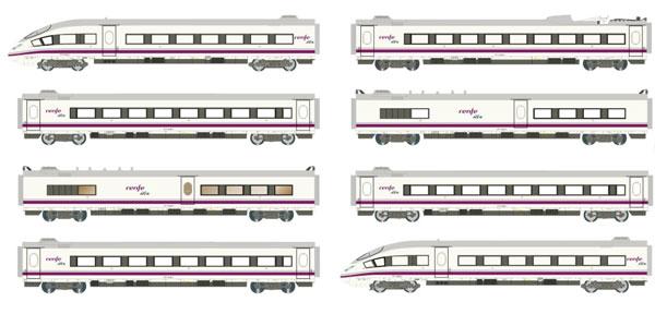 HN2445 RENFE(スペイン国鉄) AVE S-103 8両セット[ARNOLD]【送料無料】《04月予約》