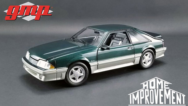 1/18 Home Improvement (1991-99 TV Series) - 1991 Ford Mustang GT - Deep Emerald Green[gmp]【送料無料】《10月仮予約》