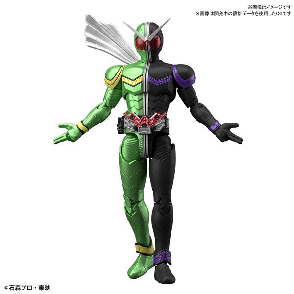 Figure-rise Standard 仮面ライダーW サイクロンジョーカー プラモデル[BANDAI SPIRITS]《08月予約》