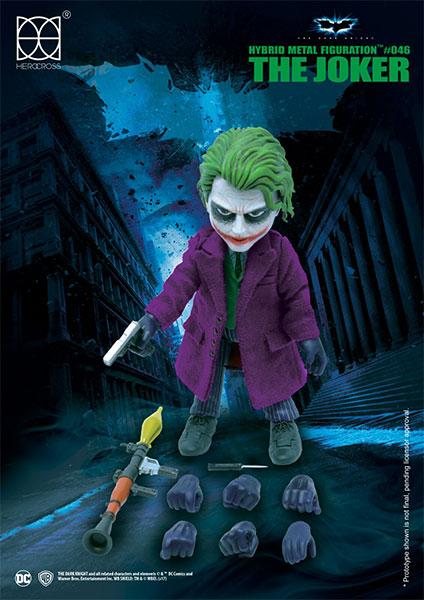 ジョーカー(ダークナイト) フィギュア[ヒーロークロス]《発売済・在庫品》