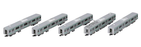 98342 JR E501系通勤電車(常磐線)増結セット (5両)[TOMIX]【送料無料】《発売済・在庫品》