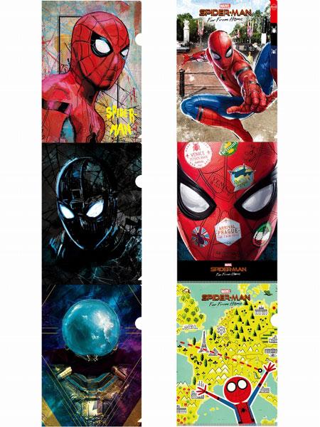 スパイダーマン ファー・フロム・ホーム/ A4&WポケットA4&3ポケットA4&ミニA5  クリアファイル6枚セット[イン・ロック]《07月仮予約》 あみあみ 楽天市場店