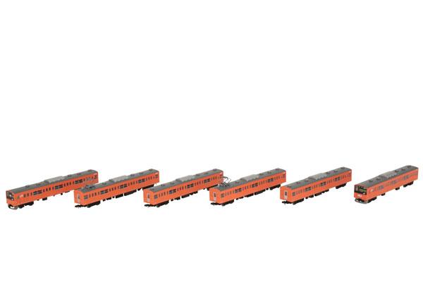 鉄道コレクション JR201系中央線快速 H4編成 6両セット[トミーテック]《発売済・在庫品》