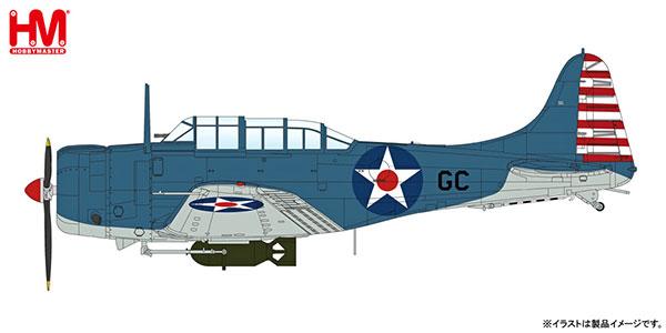 """1/32 SBD-2 ドーントレス""""VS-6 真珠湾[ホビーマスター]《10月予約※暫定》"""