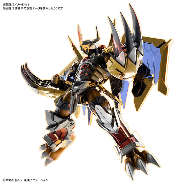 Figure-rise Standard ウォーグレイモン(AMPLIFIED) プラモデル 『デジモンアドベンチャー』[BANDAI SPIRITS]《10月予約》