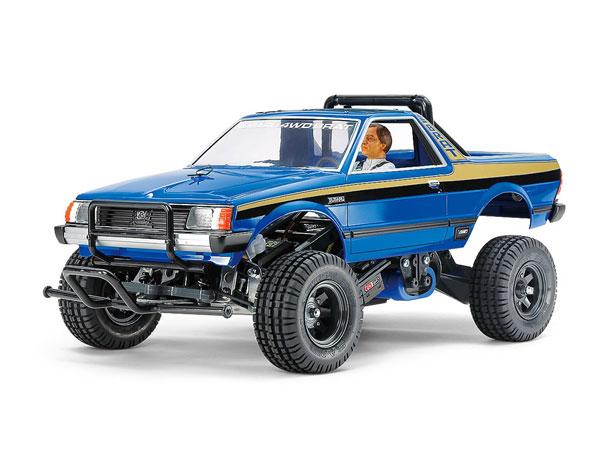 1/10電動RCカー スバル ブラット ブルーバージョン[タミヤ]《発売済・在庫品》