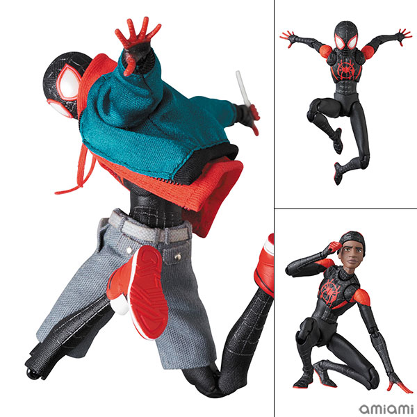 マフェックス No.107 MAFEX SPIDER-MAN(Miles Morales)(『SPIDER-MAN:INTO THE SPIDER-VERSE』版)[メディコム・トイ]《06月予約》