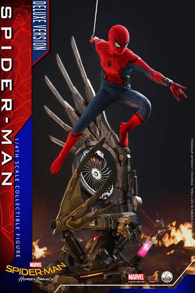 クオーター スケール スパイダーマン ホームカミング スパイダーマン DX版 延期前倒可能性大[ホットトイズ]【同梱不可】【送料無料】《01月仮予約》