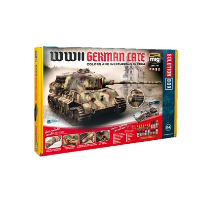 ソリューションボックス 04:WW.II ドイツ軍戦闘車両 (後期)[アモ]《09月仮予約》