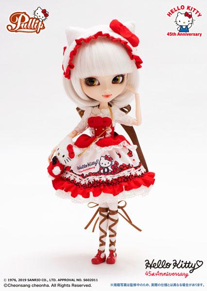 Pullip Hello Kitty★Pullip 45th Anniversary ver (プーリップ ハローキティ45thアニバーサリーバージョン)[グルーヴ]【送料無料】《発売済・在庫品》
