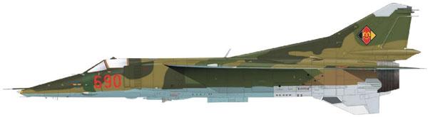 1/48 MiG-23BN リミテッドエディション プラモデル[エデュアルド]《発売済・在庫品》