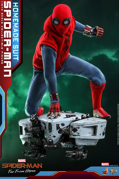 ムービーマスターピース FarFromHome スパイダーマン ホームメイドスーツ 延期前倒可能性大[ホットトイズ]【同梱不可】【送料無料】《02月仮予約》