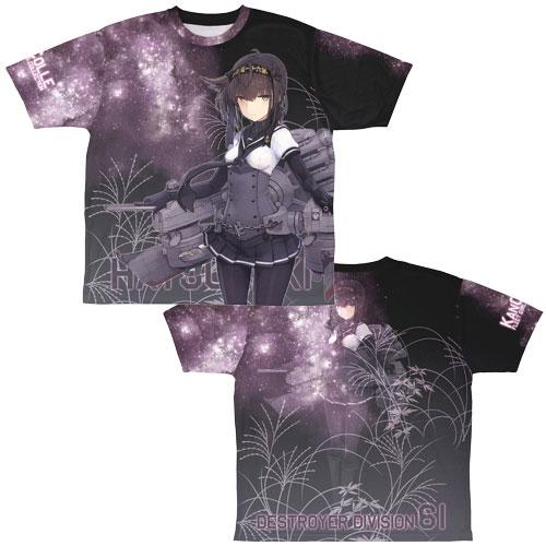 艦隊これくしょん -艦これ- 初月 両面フルグラフィックTシャツ/M(再販)[コスパ]《03月予約》