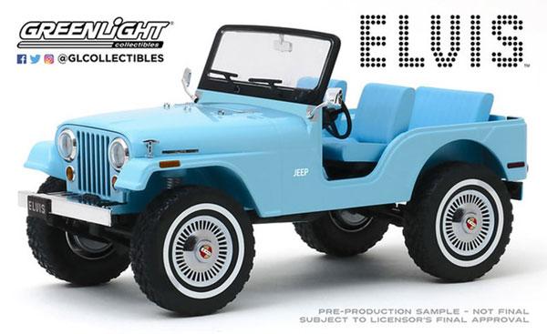 【高額売筋】 1/18 Artisan - Jeep Collection - Elvis 1/18 Presley (1935-77) - Jeep CJ-5 - Sierra Blue[グリーンライト]《02月仮予約》, オートショップTSG:4316a8c9 --- kventurepartners.sakura.ne.jp