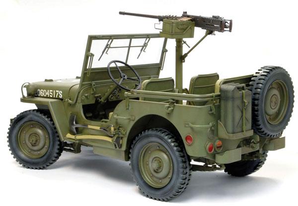 1 6 WW II アメリカ軍 1 4トン 4×4トラック w M2キャリバー50機関銃 プラモデル ドラゴンモデル07月予約 暫定4Aj3qcL5R