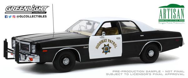 【テレビで話題】 1/18 Patrol[グリーンライト]《在庫切れ》 Artisan Collection - - 1975 Dodge Coronet 1975 - California Highway Patrol[グリーンライト]《在庫切れ》, ブンキョウク:e762b9f4 --- zhungdratshang.org