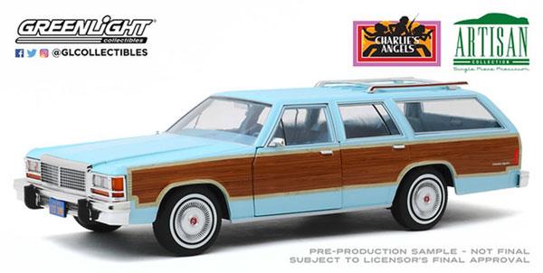 素晴らしい外見 1/18 Artisan Collection - Charlie's Artisan Angels (1976-81 TV - Charlie's Series) - 1979 Ford LTD Country Squire[グリーンライト]《02月仮予約》, トヨヒラク:63b6d949 --- kventurepartners.sakura.ne.jp