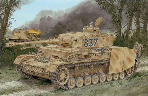 1/35 WW.II ドイツ軍 IV号戦車H型後期生産型 (ツィメリットコーティング 有/無) プラモデル[ドラゴンモデル]《12月予約》