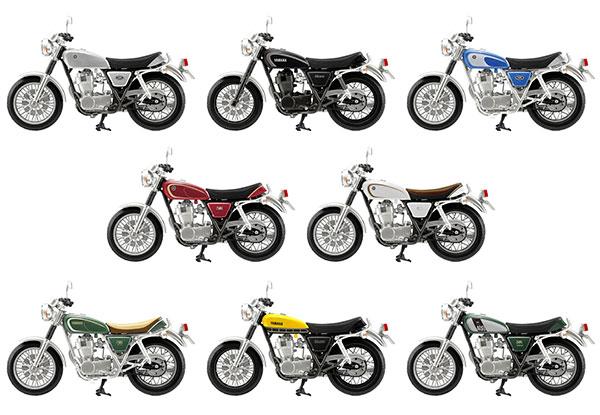 1/24 ヴィンテージ バイクキット Vol.7 YAMAHA SR400 10個入りBOX (食玩)[エフトイズ]《発売済・在庫品》