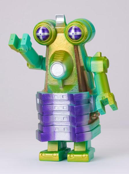 怪獣郷ソフビシリーズ 一般流通 ロボット怪獣 ビルガモ(グリーン) 「帰ってきたウルトラマン」より[やまなや]《01月予約》