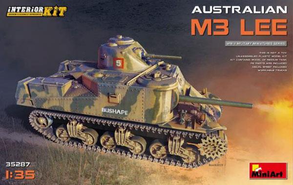 1/35 オーストラリア軍M3 LEEインテリアキット(内部再現)[ミニアート]《12月予約※暫定》