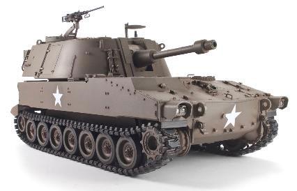 1/35 M108 105mm自走榴弾砲 プラモデル[AFVクラブ]《02月予約※暫定》