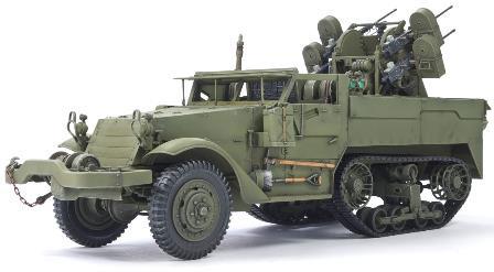 1/35 M16 対空自走砲 ミートチョッパー プラモデル[AFVクラブ]《02月予約》