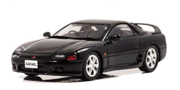 1/43 三菱 GTO ツインターボ Z16A 1996 Pyreness Black[CAR・NEL]《03月予約》