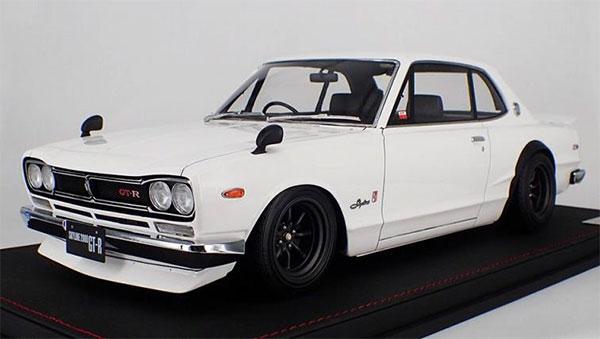1/12 日産 スカイライン 2000 GT-R KPGC10 ホワイト[宮沢模型/イグニッションモデル]【送料無料】《発売済・在庫品》