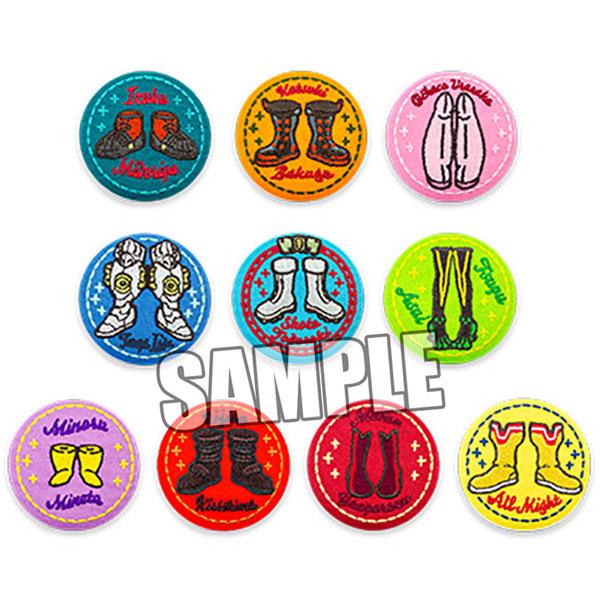 僕のヒーローアカデミア トレーディング刺繍缶バッジ 10個入りBOX[タカラトミーアーツ]《02月予約》