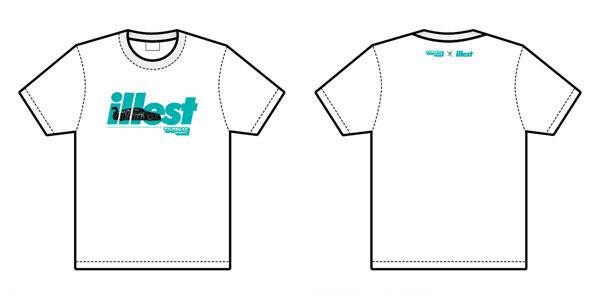 illest × Tarmac × R8 Tシャツ White (XL Size)[Tarmac Works]《02月予約》