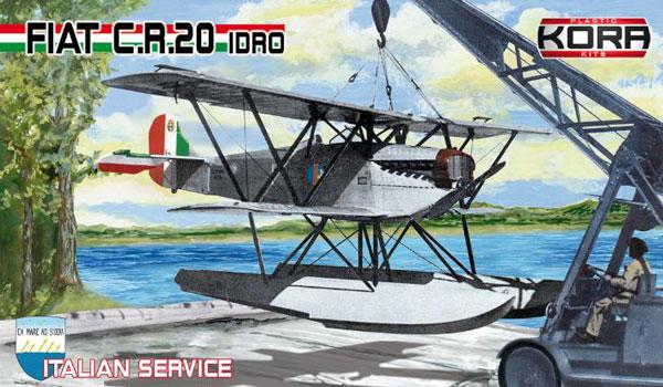 1/72 フィアット CR.20 イドロ 水上戦闘機 「イタリア」 プラモデル[コラモデルス]《01月仮予約》