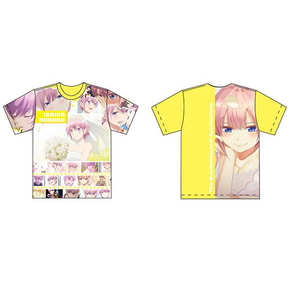 五等分の花嫁 フルグラフィックTシャツ Lサイズ 中野一花[Y Line]《02月予約》