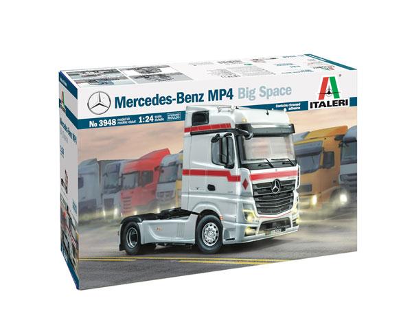 1/24 メルセデス・ベンツ MP4 ビッグスペース ショウトラック プラモデル[イタレリ]《02月予約》