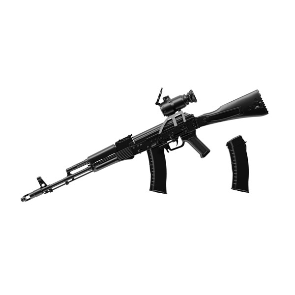 リトルアーモリー [LA060]AK74Mタイプ 1/12 プラモデル[トミーテック]《06月予約》