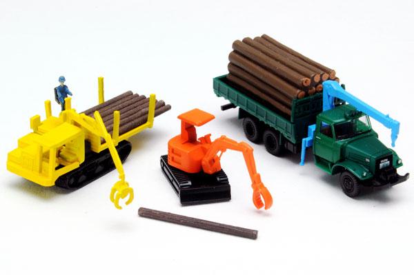 ザ トラックコレクション 原木運搬セット セール価格 《発売済 在庫品》 正規逆輸入品 トミーテック
