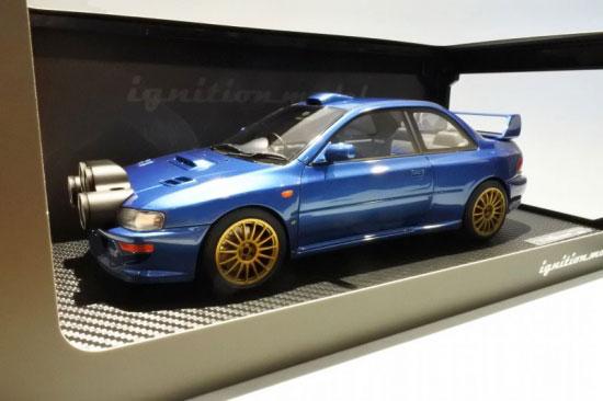 1/18 スバル Impreza 22B-STi Version (GC8改) Blue LightPods Ver[イグニッションモデル]【送料無料】《発売済・在庫品》