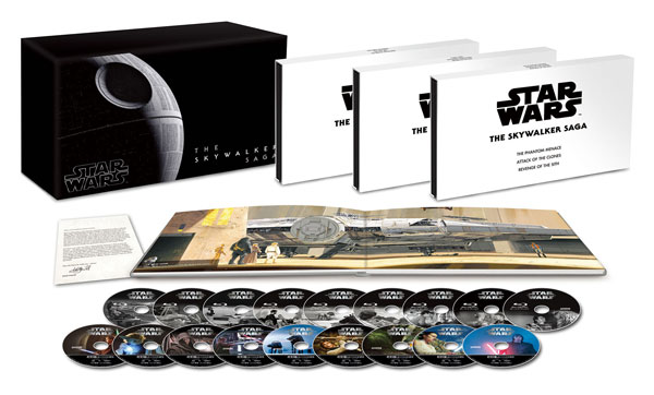UHD BD スター・ウォーズ スカイウォーカー・サーガ 4K UHD コンプリートBOX[ウォルト・ディズニー・スタジオ・ジャパン]【送料無料】《在庫切れ》